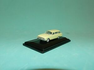 Road Ragers 1/87 1962 Ford XL Station Wagon Cassea Yellow MiB