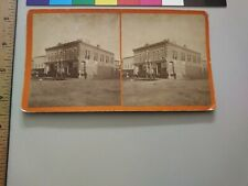 Bloom's Clothing House R.L. Kelly Pierre South Dakota Territory Stereoview Photo