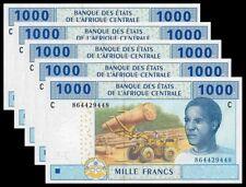 CHAD (C.A.S.) P-607 Cd  - 5 x 1000 Francs  2017 UNC !