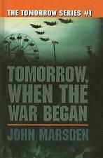 Tomorrow, When the War Began by John Marsden (Hardback, 2001)