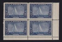 Canada Sc #216 (1935) 13c Yacht Britannia Corner Block Mint NH MNH