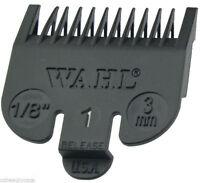 """Wahl Black Clipper Comb Attachment #1 1/8"""" (Sterling 4, Super Taper) WA3114"""