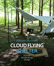 Naturehike Ultralight Camping Tarp Shelter Outdoor Portable Waterproof Sun-Proof