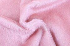 💖Mitteldichter Mohair, 13 mm Flor, 20 x 70 cm: rosé, heller Rücken💖