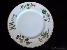 Minton Meadow Smooth Dinner Plate S745 Floral Wildflowers Gold Trim