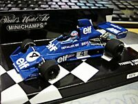 F1 TYRRELL Ford Cosworth 007 1975 Depailler #4 elf  limited Minichamps 1:43