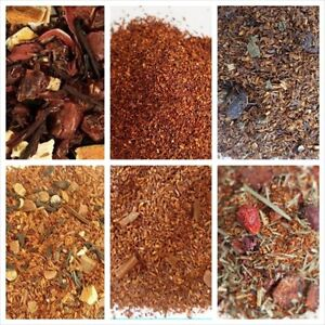 Rooibos Tea Organic loose leaf choice flavors, quanity, tea bags   free shipping