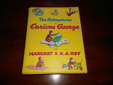 THE ADVENTURES OF CURIOUS GEORGE MARGRET & H A REY HARD COVER BOOK KIDS