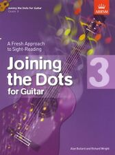 Joining The Dots Learn Sight Read Reading Play Guitar Lesson Music Book Grade 3