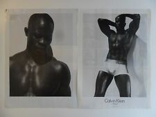 2007 Print Ad Calvin Klein Men's Briefs Underwear ~ Steel