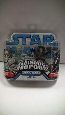 Star Wars Galáctica HEROES duros y GARINDAN Figuras Pack Hasbro 2008 - NUEVO