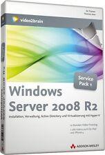 video2brain Windows Server 2008 R2 Video-Training, 12 Stunden auf DVD, NEU