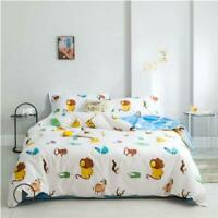3D Forest King ZHUA4041 Bed Pillowcases Quilt Duvet Cover Set Queen King Zoe