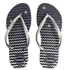 Original Genuine Havaianas Slim Oceano blue flip-flops UK size 5 £17.90