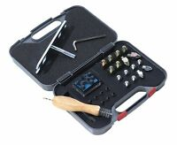 Shires Stud Kit, horse shoe studs, inc plugs, spanner, cleaner, carry case