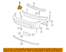 GM OEM Front Bumper-Bumper Cover Support Bracket Right 15147254