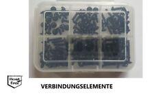 PT-Schrauben Sortiment SCHWARZ Linsenkopf mit TORX Ø 3,0 120 Teile EDELSTAHL A2