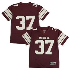 6b2e72f83 Montana Grizzlies Outerstuff NCAA Youth  37 Home Maroon Football Jersey