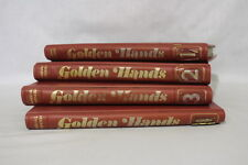 Vintage 59 Vol, 4 Binder Set GOLDEN HANDS Knitting & Crochet Magazines 1971-1972