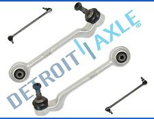 New 4pc Kit: Front Lower Rearward Control Arms + Ball Joints and Sway Bar Links