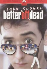 Better Off Dead John Cusack , David Ogden Stiers Dvd discs : 1 Comedy Brand New