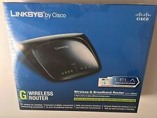 Linksys Wireless-G Router de banda ancha Modelo no. WRT54G2 V1.5 ir8 514 Speedbooster