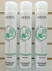 "Nioxin  3D Styling Regular Hold Niospray 10.6 fl oz - ""PACK OF 3"""