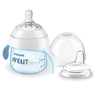 Philips Avent My Natural Trainer Sippy Cup 5 oz SCF262/01 - Blue