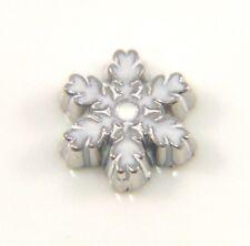 Floating Charms Mini Charm Living Memory Locket Silver Winter Snowflake 8mm