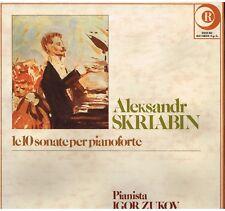 Scriabin: Le 10 Sonate Per Pianoforte / Igor Zukov - LP