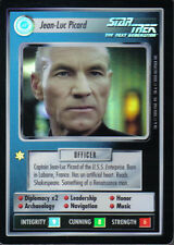 STAR TREK CCG REFLECTIONS ULTRA RARE JEAN-LUC PICARD