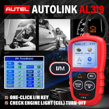 Autel AL319 Automotive OBDII Code Reader OBD OBD2 Scanner Car Check Engine Light