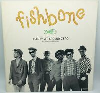 Fishbone Party At Ground Zero - Vinyl Record LP 1985 - TX 6544