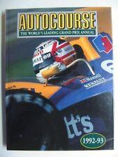 Autocourse: 1992-93 by Hazleton Publishing (Hardback, 1992)