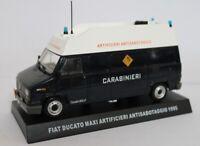 Carabinieri Fiat Ducato Maxi Artificieri Antisabotaggio 1/43 Diecast