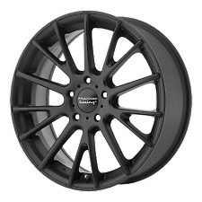 4 16 inch AR904 16x7 Black 5 Lug Rims Wheels 5x112 40mm