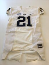 Game Worn Used Pittsburgh Panthers Pitt Football Jersey Nike Size 40 #21 Felder