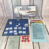 Family Pastimes Let's Go Sailing Co-operative Game Board Game 1998 Jim Deacove