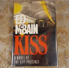 Kiss by Ed Mcbain First Edition 1992, Hardcover