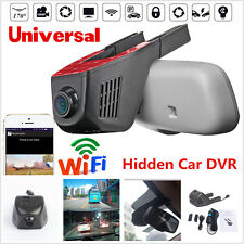 Hidden Car HD 1080P 170° WIFI DVR Vehicle Camera Video Recorder Dashcam G-Sensor