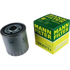 Original MANN-FILTER Kraftstofffilter WK 817/3 x Fuel Filter