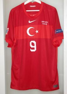 Match worn prepared shirt Turkey national team vs Russia Nations league Besiktas