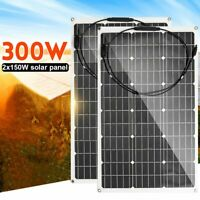 18V Power Solar Panel Cable Connector Battery Charger Monocrystalline Solar Cell