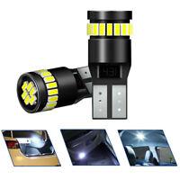 2X T10 501 194 W5W SMD 24 LED Auto Car CANBUS Error Free Wedge Light Bulb White!