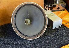 "Vintage Tannoy Dual Concentric LSU/HF/12 Silver 12"" w/Crossover/GRF all original"