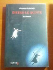 Dietro le quinte - Giuseppe Crisafulli - Carthago - 2014 - M (Autografato)