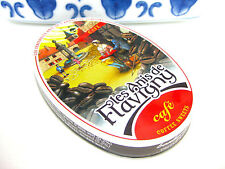 LES ANIS DE FLAVIGNY COFFEE DROPS HARD CANDY FRENCH MINT PASTILLES in TIN
