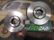 FZ615752 2 DISCO FRENO CITROEN XM, PEUGEOT 605 283 mm REF. 96099616