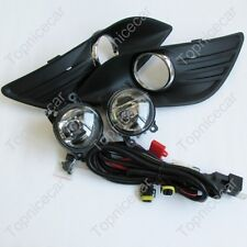 A Set FOG LIGHTS LIGHT LAMPS cover wiring harness For FORD FOCUS MK2 2009-2011