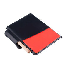 Red Yellow Card Professional Equipment Pencil Wallet Set Soccer Referee